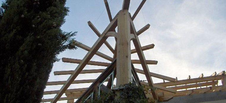 Charpente bois sur mesure pour réaliser une surélévation dans le Rhône