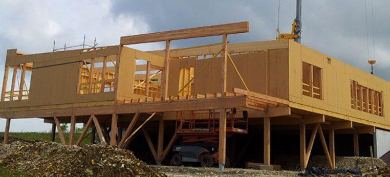 Maison départementale de la filière bois